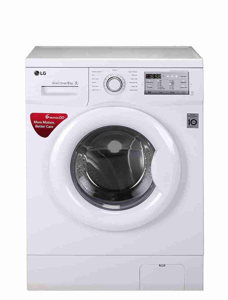 LG 6 kg Inverter Fully-Automatic Front Loading Washing Machine